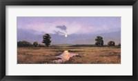 Framed Evening on a Marsh