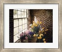 Framed Flower House Morning