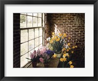 Framed Flower House Morning