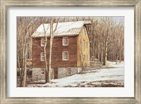 Framed Mill in the Woods