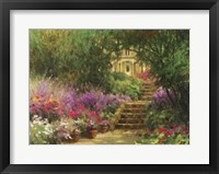 Framed Garden Steps