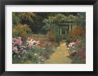 Framed Italian Garden