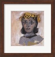 Framed Head of Dora Maar