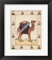 Framed Silk Road Series - Festival Camel I