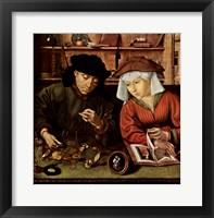 Framed Moneylender and His Wife