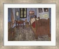 Framed Bedroom At Arles