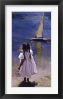 Framed Sail Away