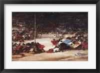 Framed Bullfight