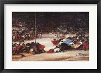 Framed Bullfight