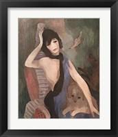 Framed Mlle Chanel