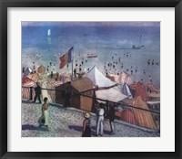 Framed Sables D'olonne