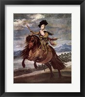 Framed Prince Balthazar-Carlos on a Pony