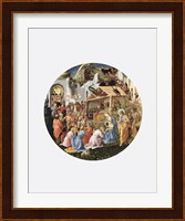 Framed Adoration of the Magi