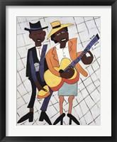 Framed Street Musicians