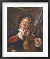 Framed Boy with a Lute