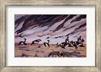 Framed Prairie Fire
