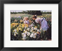 Framed Flower Girls