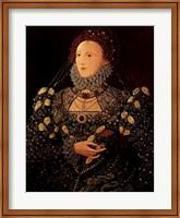 Framed Queen Elizabeth I
