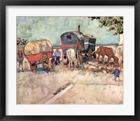 Framed Gypsy Caravan