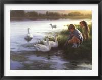 Framed At the Mill Pond