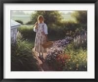Framed Grandma's Garden