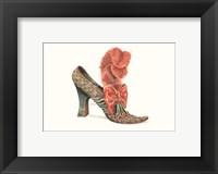 Framed La Chaussure de Charlotte
