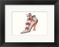 Framed La Chaussure d'Aimee