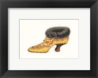 Framed La Chaussure d'Antoinette