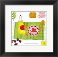Framed Poisson aux Olives