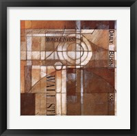 Daily Business Framed Print