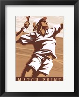 Framed Match Point