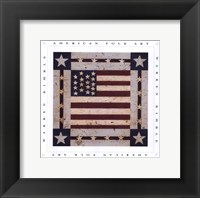 Framed Flag Square