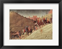 Framed Journey of the Magi