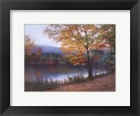 Framed Golden Autumn