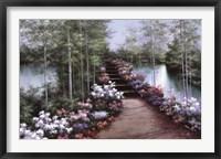 Framed Bridge of Flowers