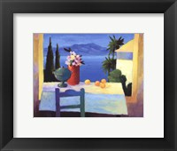 Framed Fenetres de St. Tropez
