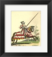 Framed 1512-Knight Armed a La Haute Barde