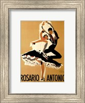 Framed Rosario & Antonio, 1949