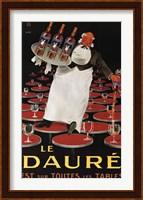 Framed Le Daure