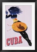 Framed Cuba, Holiday Isle of the Tropics