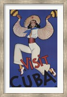 Framed Visit Cuba