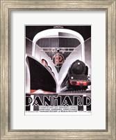 Framed Panhard Lines 16x12