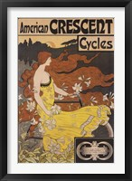 Framed American Crescent Cycles