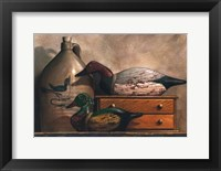 Framed Canvasback and Wood Duck