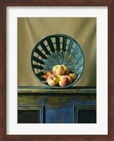 Framed White Peaches