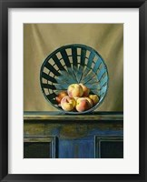 Framed White Peaches
