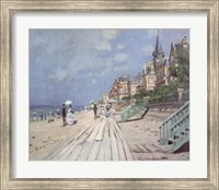 Framed Beach At Trouville