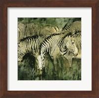 Framed Heart of the Jungle I