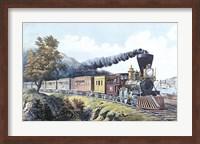 Framed American Express Train