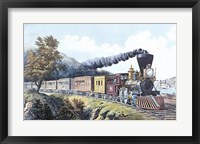 Framed American Express Train